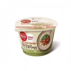 CJ 大醬小麥拌飯 컵반 강된장보리비빔밥