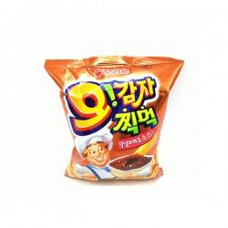 (預購 27/10)Orion 通心薯條 (附燒烤醬) 오리온 오감자 찍먹 양념바베큐소스맛