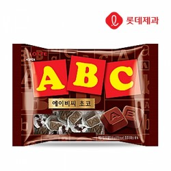 [樂天]ABC 朱古力 200G ABC초콜릿