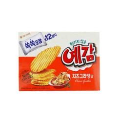ORION 非油炸 芝士味薯片 204G