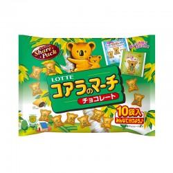 [Lotte] 日本樂天 家庭裝熊仔餅(袋裝) - 120g