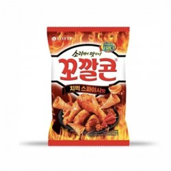 [樂天] 香辣味粟米脆筒 72g (꼬깔콘치먹스파이시맛)