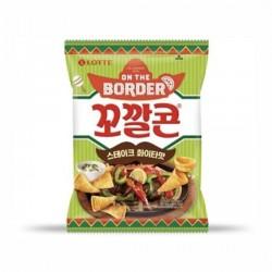 [樂天] 牛排味粟米脆筒 72g (꼬깔콘스테이크화이타맛)