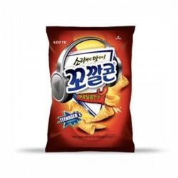 [樂天] 甜辣味粟米脆筒 72g (꼬깔콘매콤달콤한맛)
