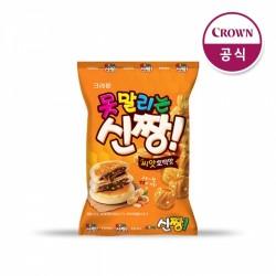 [Crown] 果仁糖餅味芝麻脆圈 120g (못말리는신짱씨앗호떡맛)