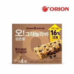 MARKET O NATURE 黑豆穀物燕麥棒 140g (오그래놀라바 검은콩)