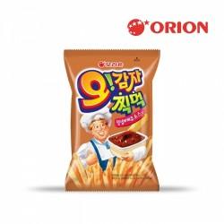 Orion 通心薯條 (附燒烤醬) 50g (오감자찍먹양념바베큐소스맛)