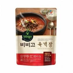 [bibigo] 辣牛肉湯 육계장 500G