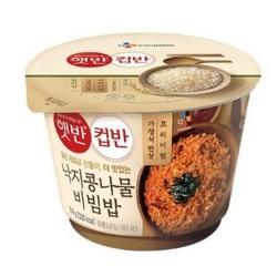 CJ 韓式八爪魚黃豆芽拌飯 컵반 낙지 콩나물 비빔밥