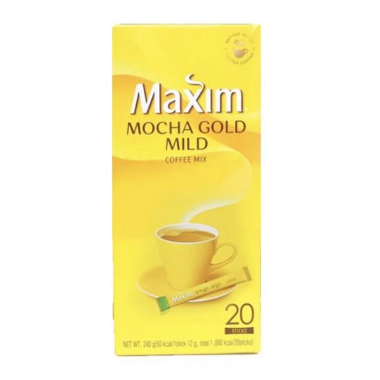 Dongsuh Maxim 韓國金裝Mocha coffee咖啡 (12g x 20條) 240g