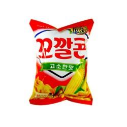 Lotte 樂天 香濃粟米脆筒(꼬깔콘고소한맛)  72g