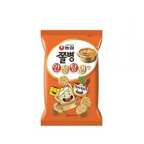 農心 安城湯麵味點心麵 농심 쫄병스낵 (안성탕면맛) 77g
