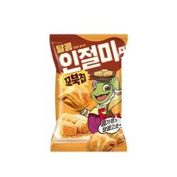 (預購 27/10)Orion 烏龜玉米脆餅 黃豆粉味 오리온 꼬북칩 (인절미 맛) 65g