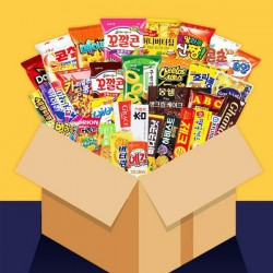 (預購 27/10)SGTS Snack Random Box (33 KOREAN snacks)