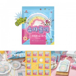 Sugarolly 彩虹棉花糖爆炸糖卷 (人手製)13g (1pc)